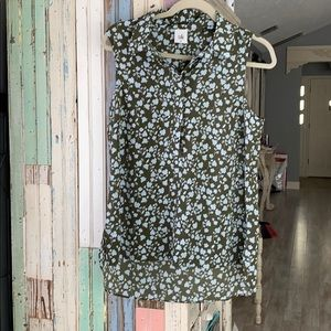 Cabi button up top